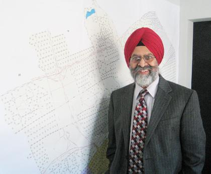 Swaranjit Singh is running for City Council from Queens